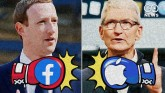 Big Tech Fight Gets Ugly: Facebook Attacks Apple W