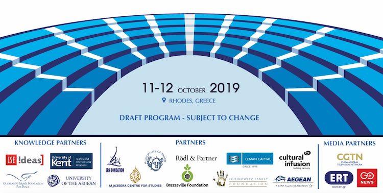 LIVE: Rhodes Forum 2019, Greece
