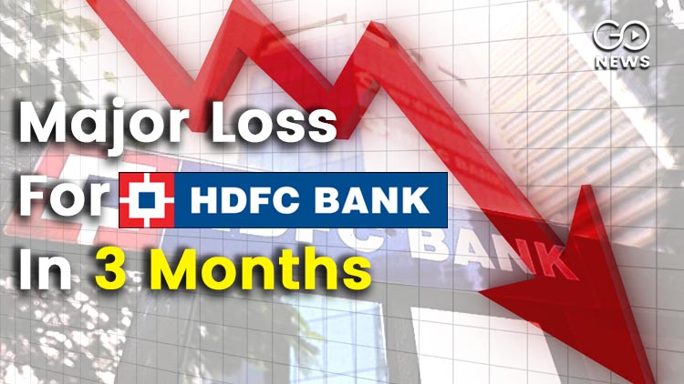 In 3 Months HDFC Loses More Than A Quarter Of Its