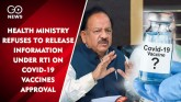 Health Ministry Refuses To Release Information Und