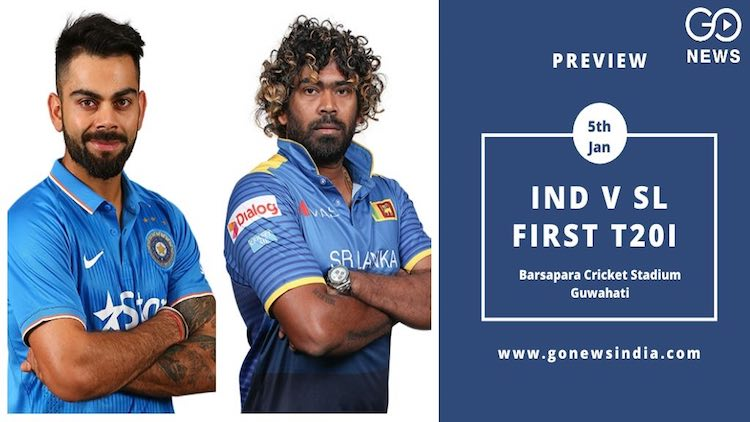 India vs SriLanka, first T20I(preview)