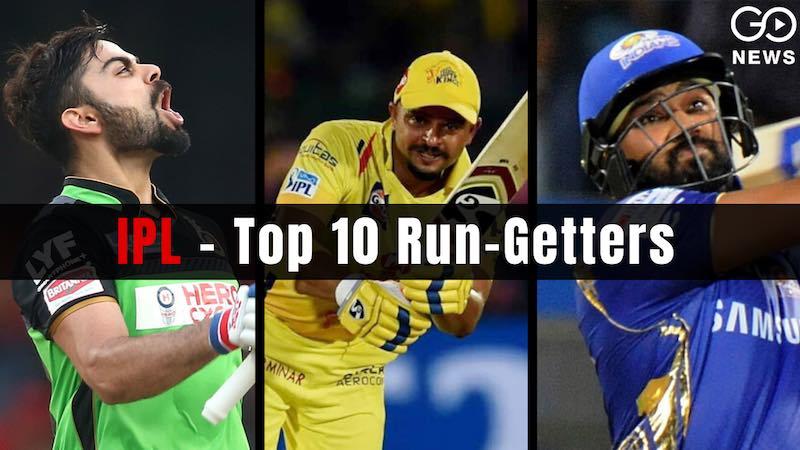Top 10 Run getters in IPL