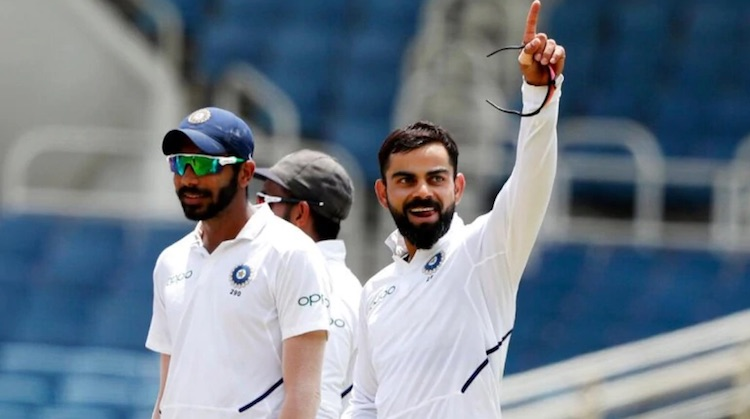India beat WI by 257 runs in second test