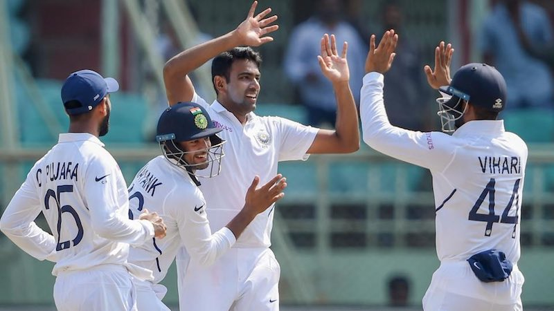 India v South Africa Second test