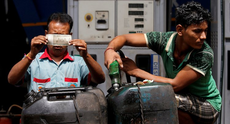 Centre May Raise Tax On Petrol-Diesel To Deal With