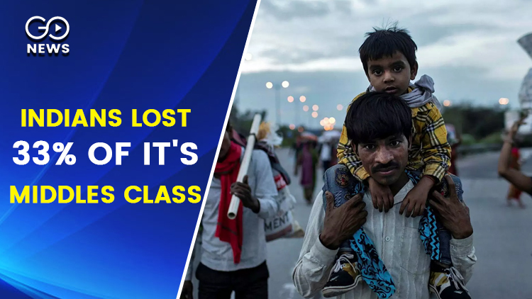 Indians Lost 27% of Income and 33% of Middles Clas