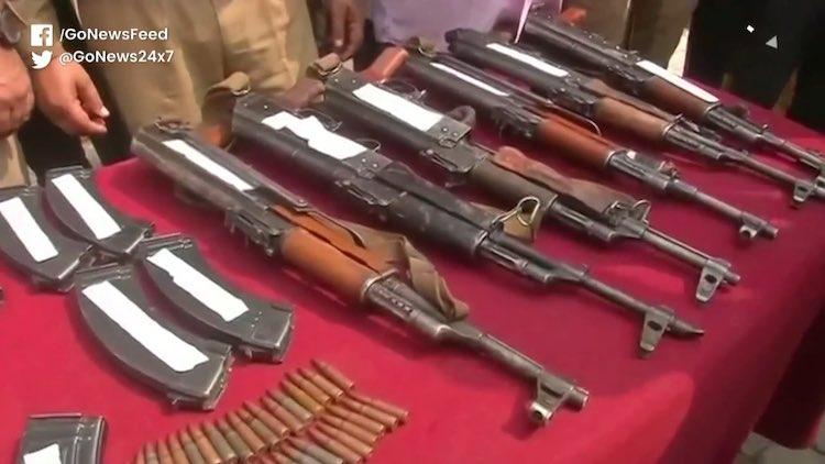 Three JeM Terrorists Caught Near Punjab And J&K Bo