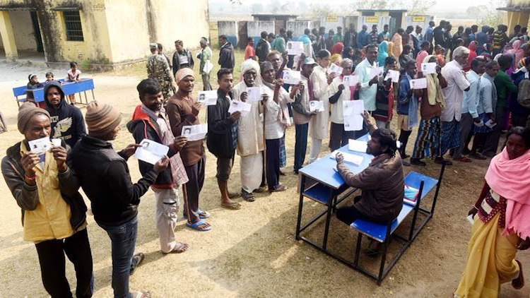 Polling Underway For 3rd Phase Of Jharkhand Assemb
