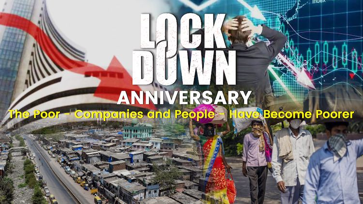 Lockdown Anniversary: The Poor - Companies and Peo