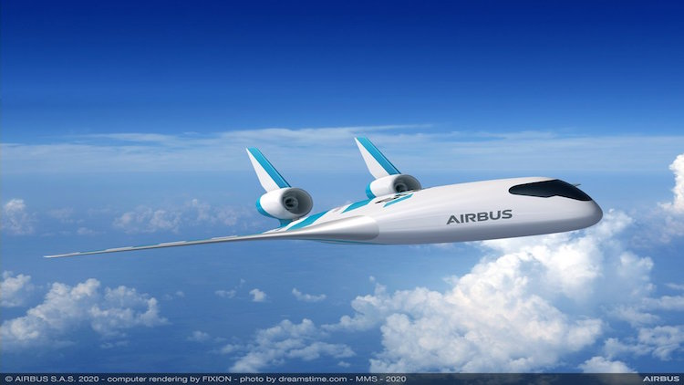 Airbus Unveils 'Maverick', Its Blended Wing Aircra