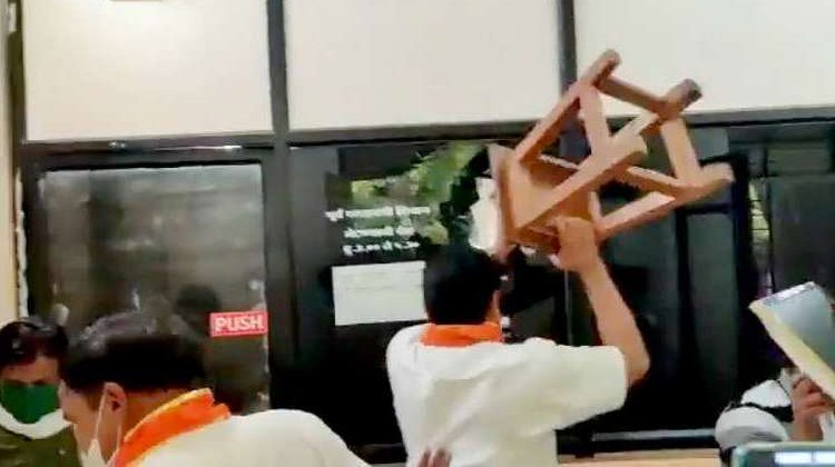 Maharashtra: MNS Workers Vandalise Government Prop