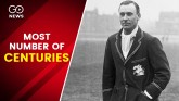 Cricket Trivia: Most Centuries In First Class Cric
