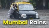 Mumbai Rains : Monsoon Brings Mumbai To It's Knees