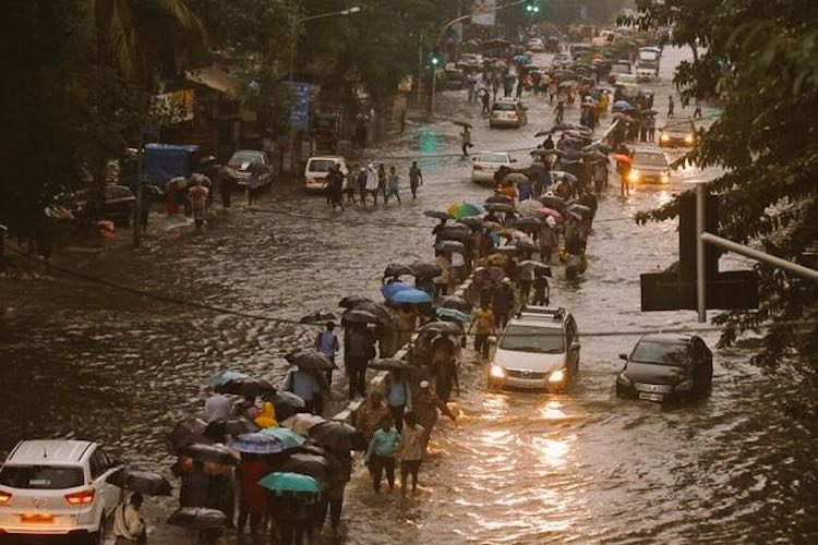 Mumbai Comes To A Standstill After Record Rain Spe