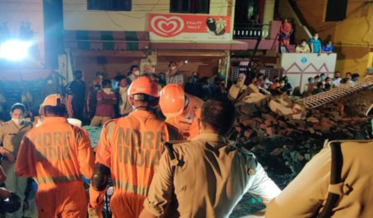 Uttarakhand: Three Dead As Building Collapses In D