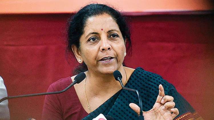 PMC Bank Customers Confront Nirmala Sitharaman Out
