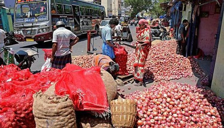 Onion prices surge, reaches a kg at Rs 50 to Rs 80