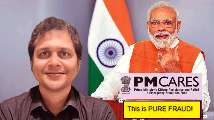 PM Caress Is A Scam Says Saket gokhale