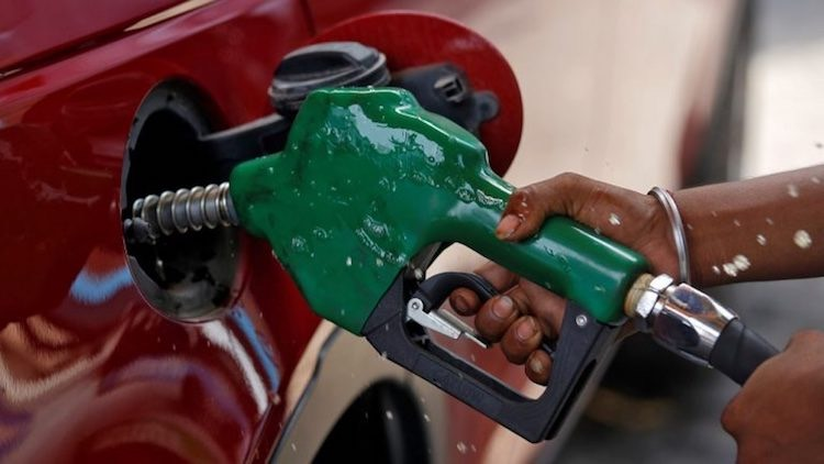 petrol prices today