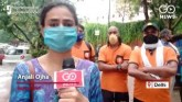 Swiggy Delivery Persons Protest Against Salary Cut