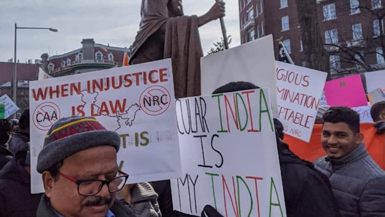 Overseas Indians Protest Against CAA, NRC