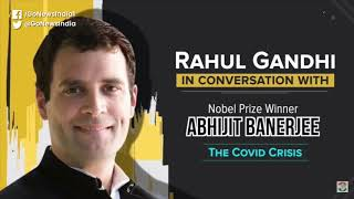 Rahul Gandhi In Conversation With Nobel Laureate A