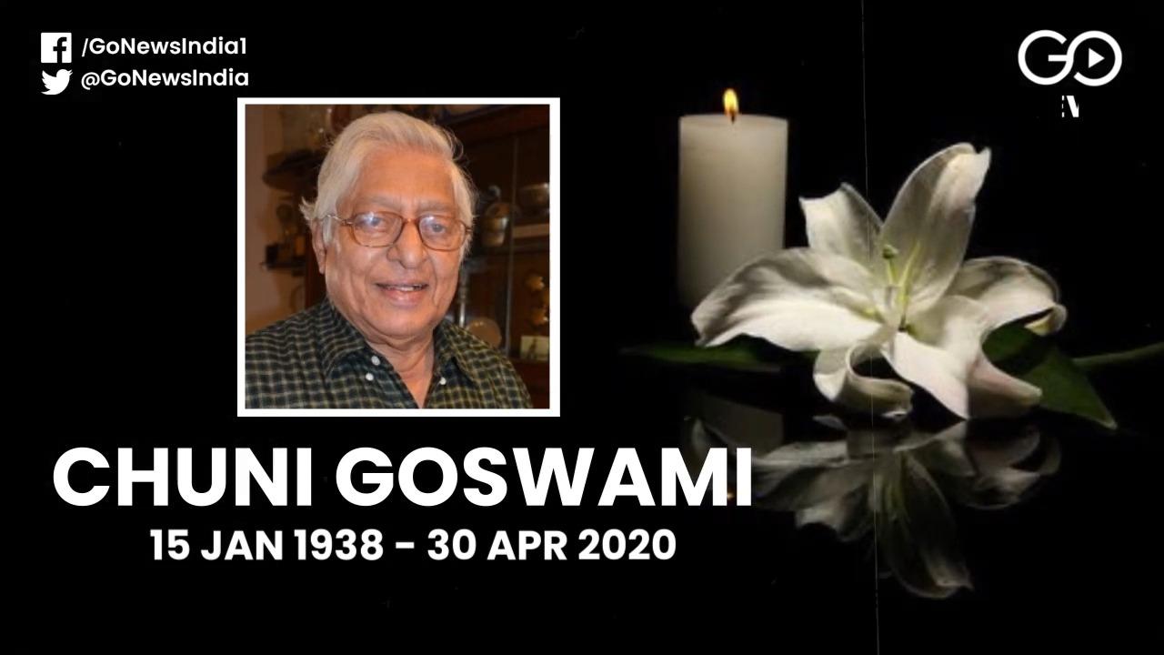 Legendary Indian Footballer Subimal 'Chuni' Goswam