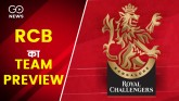 IPL 2021 : Team Preview Of Royal Challengers Banga