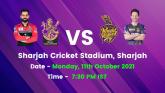 IPL 2021 KR vs RCB Elimination