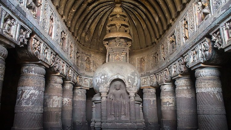 Bus Services To Ajanta Caves Suspended Due To Bad