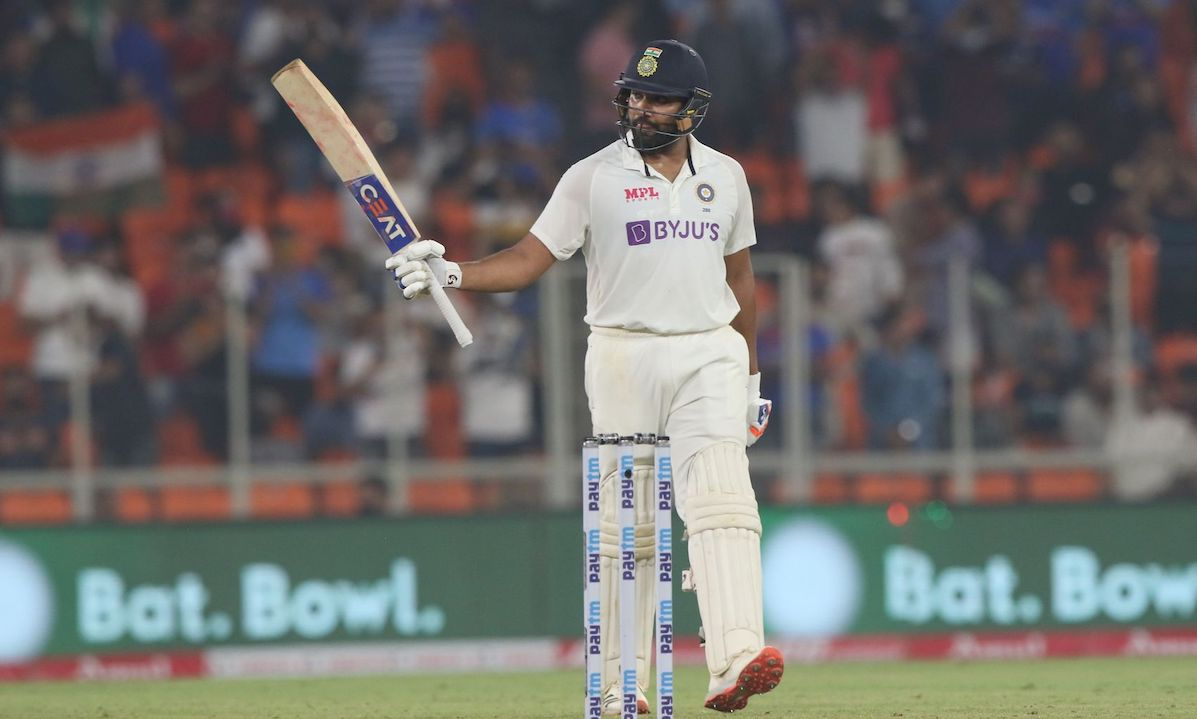 Rohit Sharma achieved career-best Test ranking