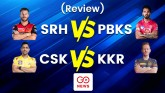 IPL 2021: PBKS vs SRH and KKR vs CSK (Match Report