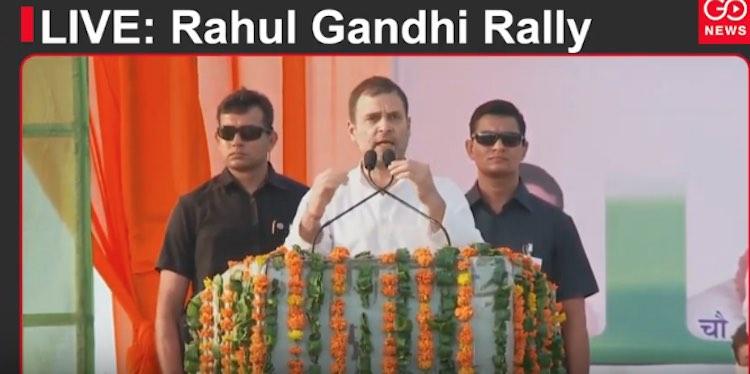 LIVE: Rahul Gandhi Rally, Mahendragarh, Haryana