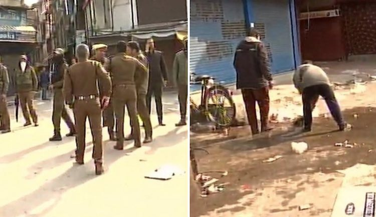 grenade attack on lal chawk, 1 killed and 15 injur