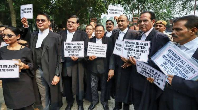Lawyers Stay On Strike As Hostilities With Police