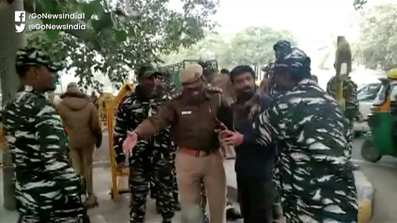 Dozens Of Protesters Detained In Delhi