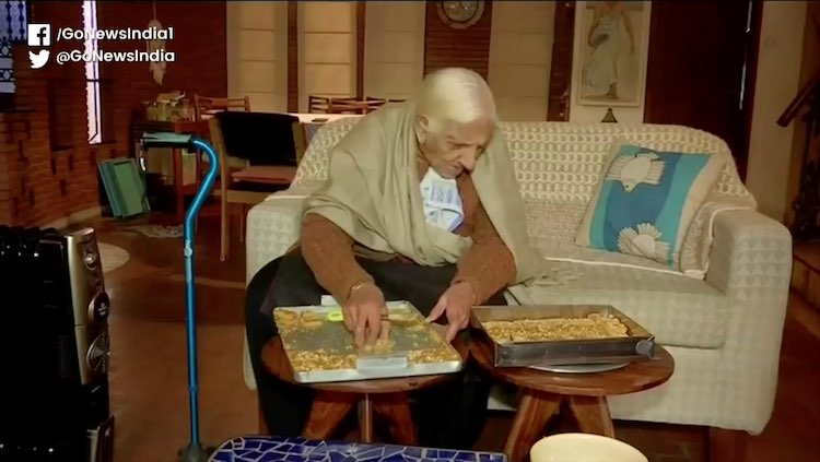 Meet 94-Year-Old Sweet Maker From Chandigarh