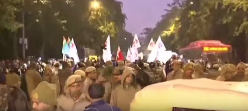 LIVE: JNU Students' March