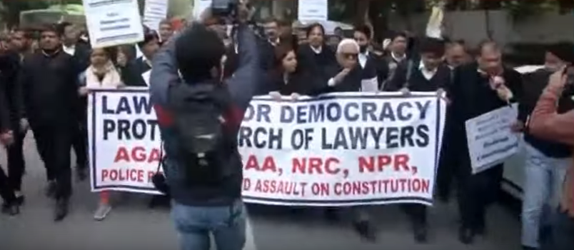 Deferred Live: SC Lawyers Protest Against CAA
