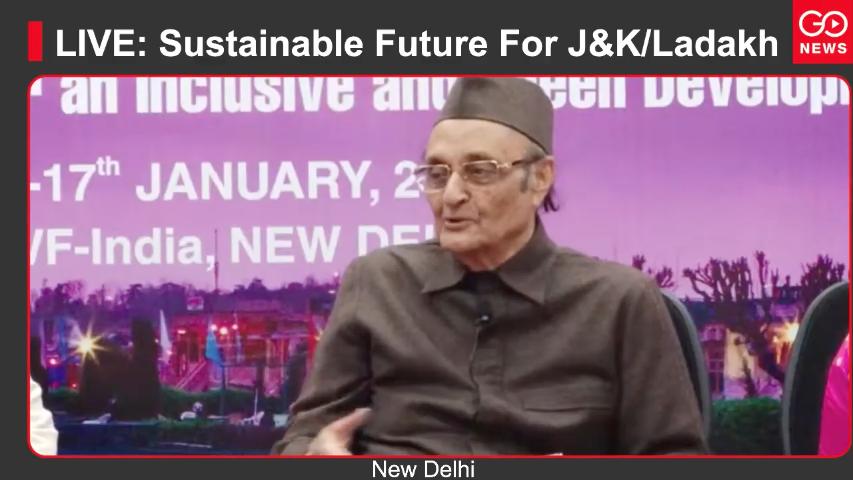LIVE: Sustainable Future For J&K/Ladakh