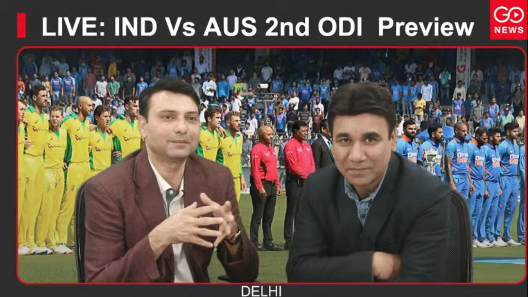 LIVE: IND Vs AUS 2nd ODI Preview