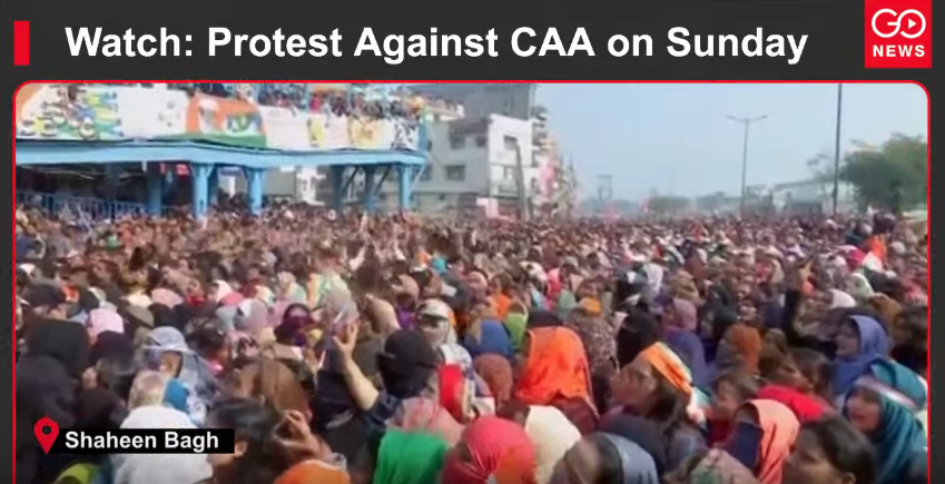 Watch: Protest Against CAA on Sunday
