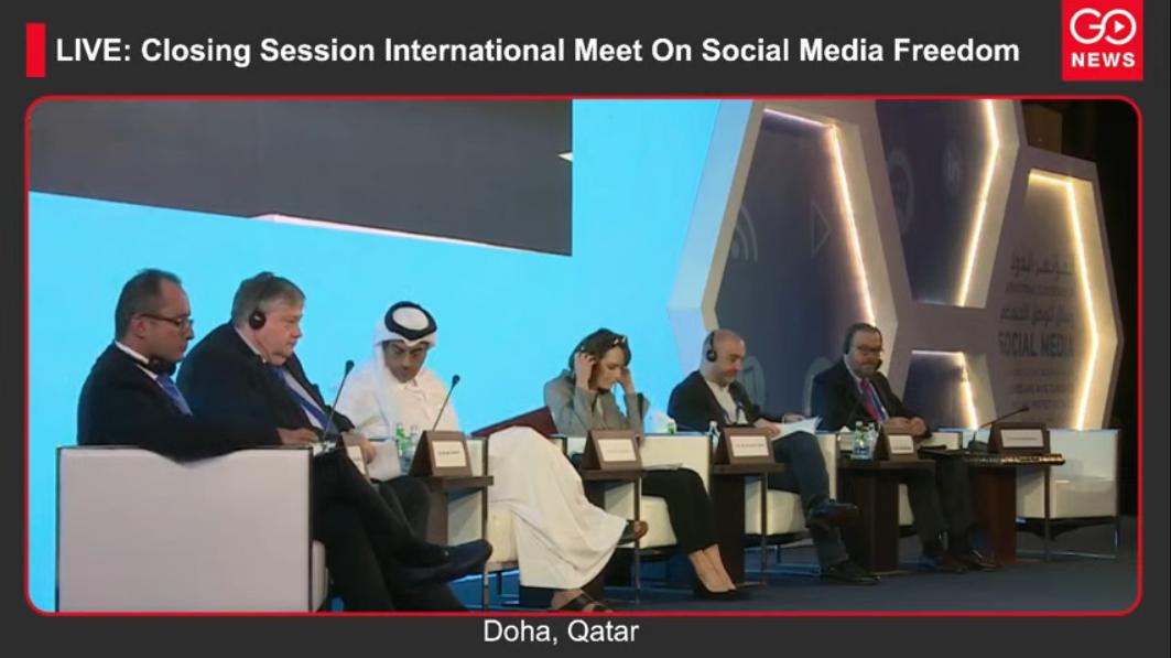 "LIVE:""Doha Social Media Conference 2020: Challenge"
