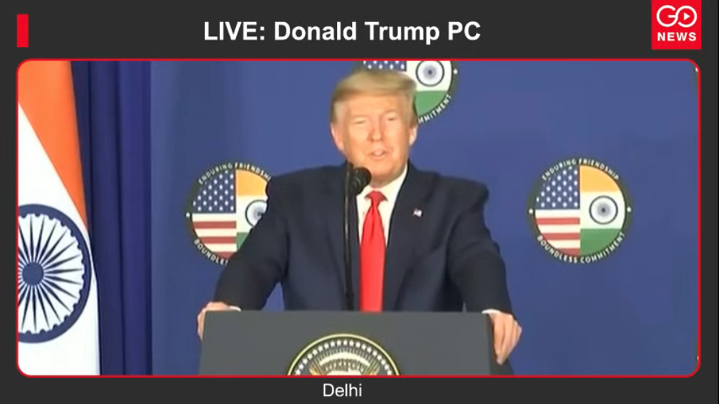 LIVE: Donald Trump PC