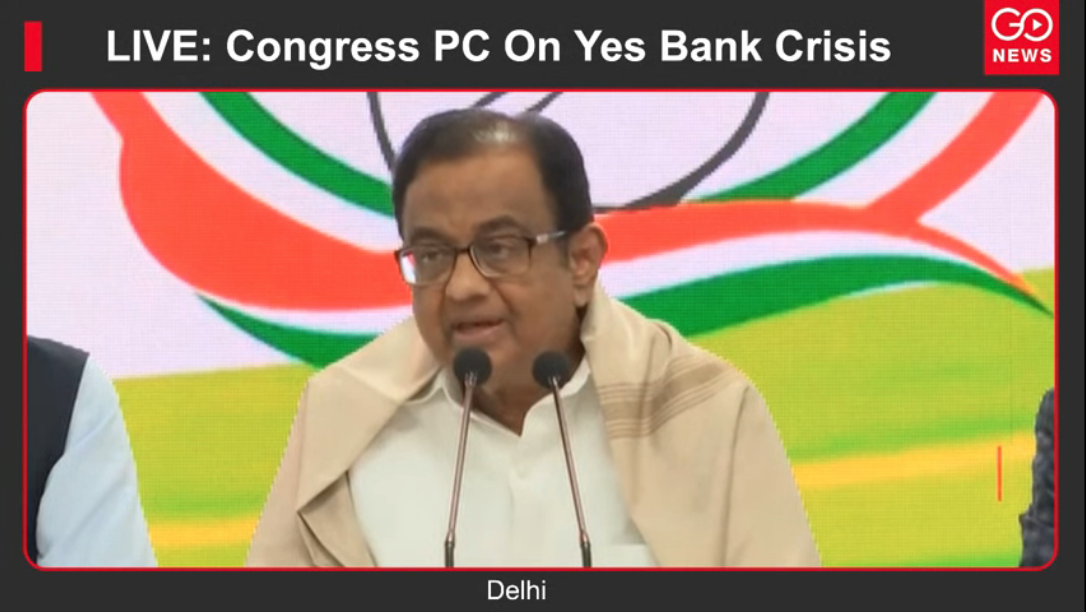 LIVE: Congress PC On Yes Bank Crisis