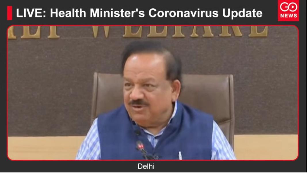LIVE: Health Minister's Coronavirus Update