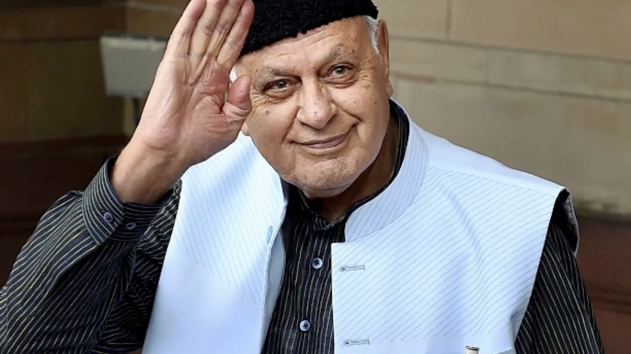 Farooq Abdullah Freed After 7 Months Of Detention,