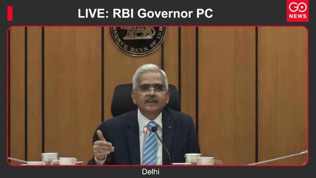 LIVE: RBI Governor PC