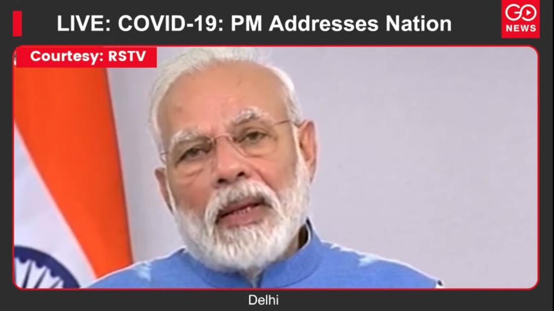 LIVE: COVID-19: PM Addresses Nation