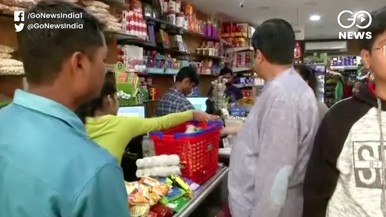 Indians Start Hoarding Goods Ahead Of 'Janata Curf